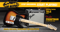 Kit chitarra+ampli+borsa+cavo+strap
